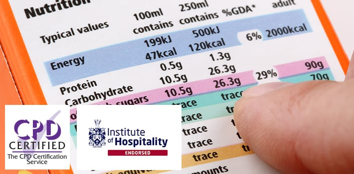 Food Labelling Regulations Training Course
